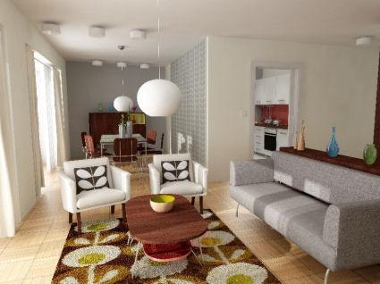 Cu l estilo usar en la casa for Casas minimalistas vintage