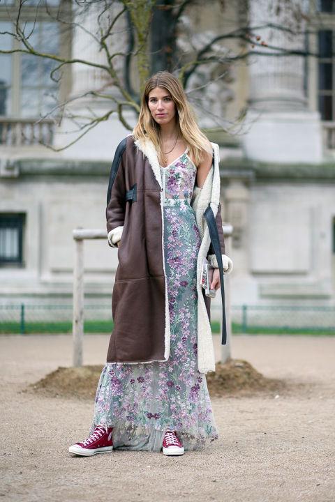 vestido en veronica chanel